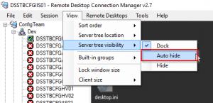 Remote Desktop Connection Manager – Morné Fourie